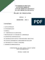 Silabo de Psiquiatria Upao 2015-1