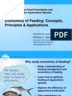 Economics of Feeding