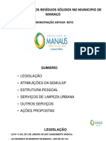 Residuos Solidos en Manaus (Brasil)