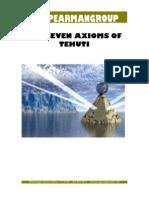 Seven Axioms of Tehuti