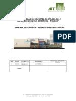 Especificaciones Técnicas Instalaciones Eléctricas - Hotel Parte2