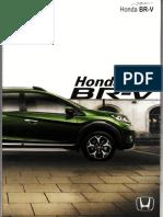 Brosur Honda BRV