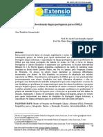 Projeto de extensão língua portuguesa para a UNILA