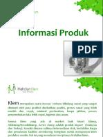 Mahdian Klamp Catalogue and Informasi