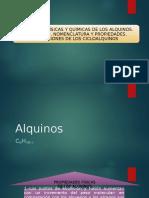 Alquinos y Cicloalquinos (1)