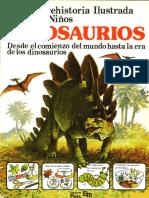 La Prehistoria Ilustrada Para Niños 01 Dinosaurios a Mc Cord Plesa 1977