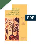 Los Coras Plantas Alimentarias y Medicinales