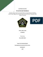 Laporan kasus Pulpitis Reversible