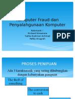 Fraud Komputer Dan Penyalahgunaan Komputer