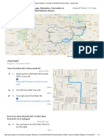 Jayanagar, Bengaluru, Karnataka to Whitefield Railway Station - Google Maps
