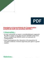 Présentation1 Trafic Avantages Inconvenient Solutions