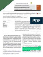 Motivational, Emotional, And Behavioral Correlates of FOMO