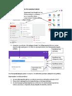 Δημιουργία φόρμας με το Formes Google