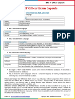 IBPS IT Officer Exam Capsule by AffairsCloud