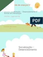Socialização e Formas de Intervençao UFCD3251
