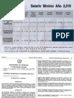 Tabla y Acuerdo 303-2015