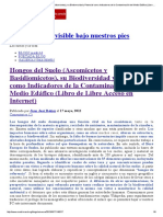 Hongos Del Suelo (Ascomicetos y Basidiomicetos), Su Biodiversidad y Potencial Como Indicadores de La Contaminación Del Medio Edáfico (Libro de Libre Acceso en Internet)