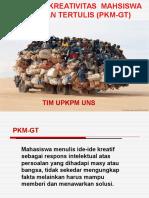 Pedoman PKM-GT 2012