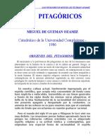 Guzman Ozamiz Miguel - Los Pitagoricos