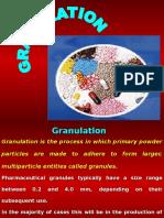 Granulation