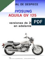 Manual de Despiece Gv125