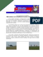 FAB continúa con la inhabilitación de pistas clandestinas en Apure