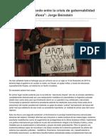 Marxismocritico.com-Argentina Oscilando Entre La Crisis de Gobernabilidad y La Dictadura Mafiosa JorgeBeinstein