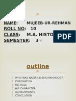 Nasir Ud Din Mahmood