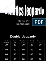 genetics jeopardy