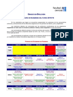 Calendario de Examenes