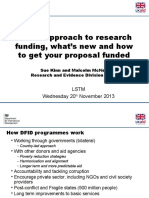 Dfid Presentation for Liverpool University Seminar Nov 13 Final