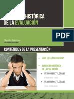 Evolución Historia de La Evaluacion