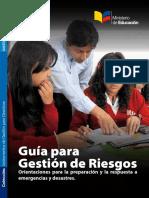 Guia de Gestión de Riesgos (Texto) Minedu Guía