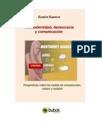 Posmodernidad Democracia y Comunicacion Perspectivas Sobre Los Medios de Comunicacion Cultura y r