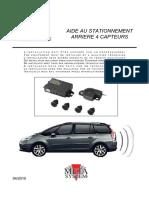 Sensores Estacionamento Citroen