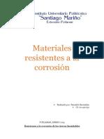 Materiales Resistentes a La Corrosión