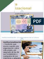 Capitulo 17 Cultura Organizacional