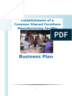 Business Plan Dev - Establishment of a Furniture Incubator -15 October 2013
