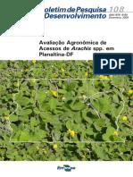 Avaliacao Agronomica de Acessos de Arachis Spp. Em Planaltina DF