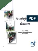 Pathologies de Chaussée