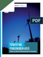 Turkiye Nin Yenilenebilir Gucu Son