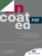 APSA 1Q 2015 Quarterly Report