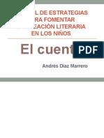 Manual de Estrategias Para Fomentar La Creación Literaria en Los Niños