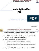 Capa Aplicacion FTP