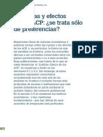 Acuerdos Regionales y La Omc