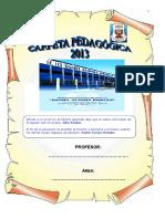 Carpetapedagogica Secundaria 2013