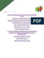 LA CALCULADORA DE BOLSILLO UN MATERIAL DIDÁCTICO PARA EL APRENDIZAJE DE LA MATEMÁTICA. AUTOR