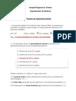 Examen de Gasometria