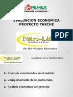 Evaluacion Economica Proyecto Yaxche Julio