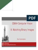 Cs664 8 Binary Matching